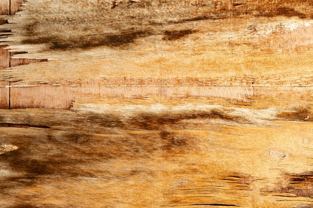 Verouderd houten oppervlak met chippen
