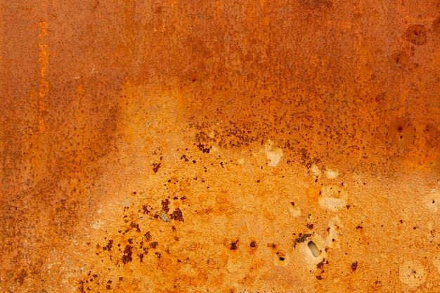 Verouderd metalen oppervlak met roest
