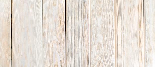 Verouderde houten planken beschilderd met beige verf