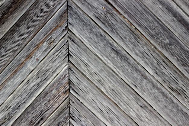 Verouderende muur van het houten gebouw