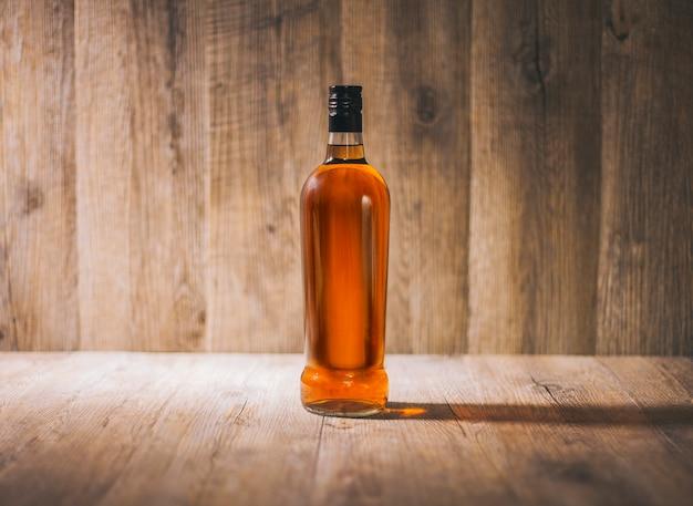 Verpakking botella rum cafe fles