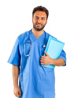 Verpleger portret