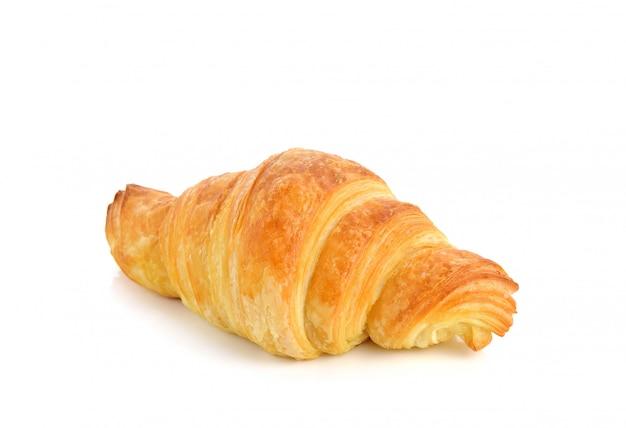 Vers duidelijk croissant op witte achtergrond