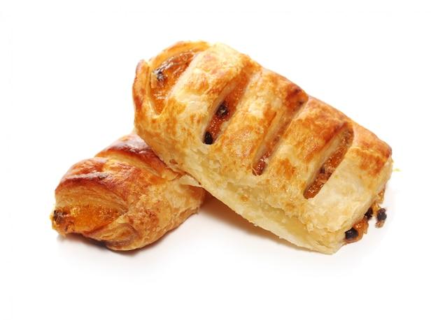 Vers en lekker broodjes met rozijnen