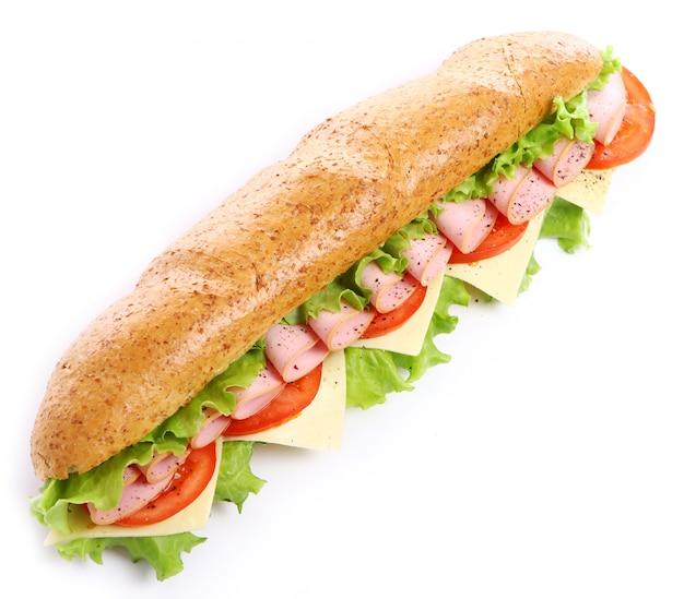 Vers en smakelijk broodje