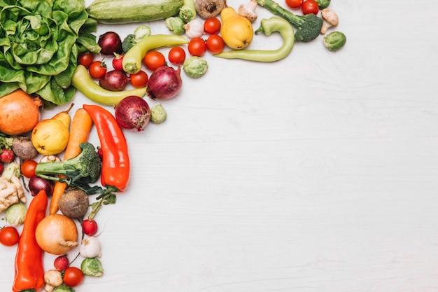 Vers fruit en groenten