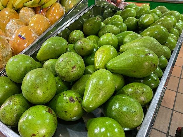 Vers fruit marktplaats landbouw op de markt