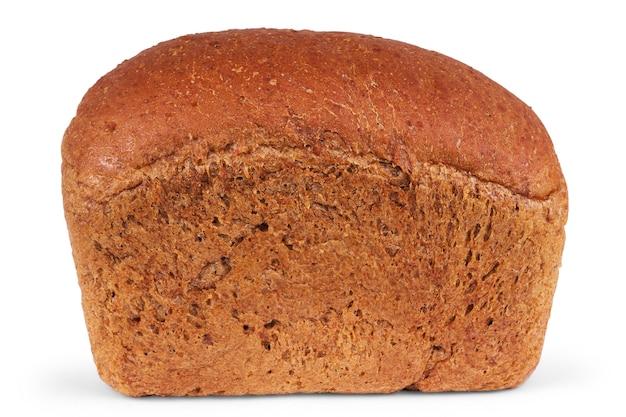 Vers gebakken brood dat op witte achtergrond wordt geïsoleerd