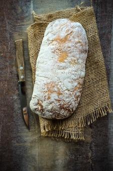 Vers gebakken ciabattabrood