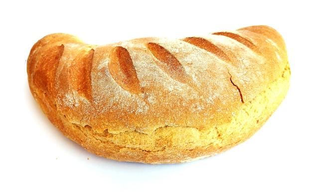 Vers gebakken geïsoleerd brood