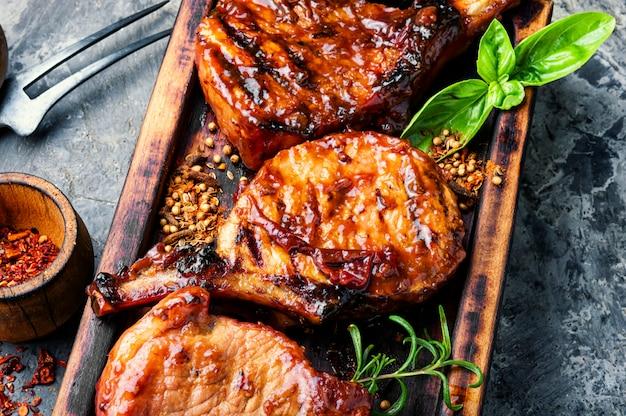 Vers gegrild vlees