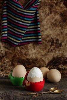 Vers gekookte eieren
