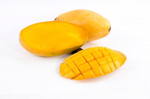 Vers gesneden mango