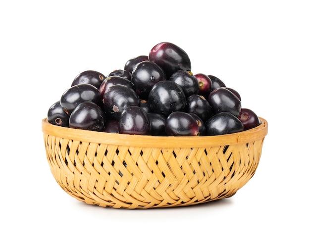Vers jamun-fruit