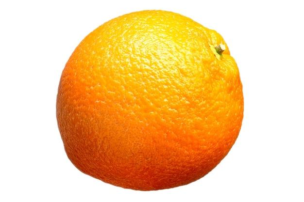 Vers oranje fruit geïsoleerd