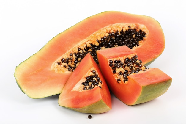 Vers papaya fruit