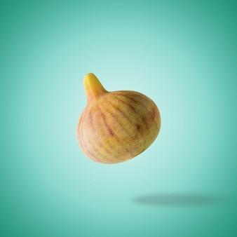 Vers rijp fig op heldere oppervlakte.