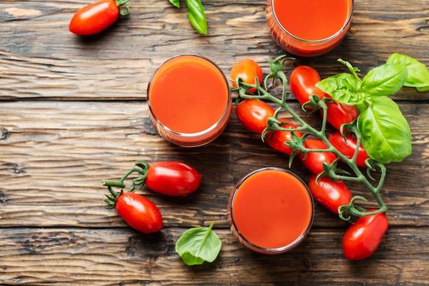 Vers tomatensap
