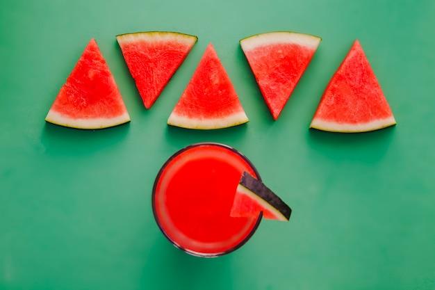 Vers watermeloen sap