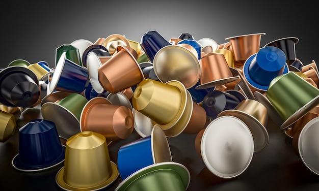 Verscheidenheid aan caffee-capsules