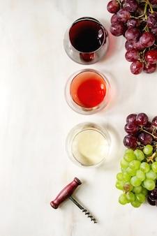 Verscheidenheid aan wijn