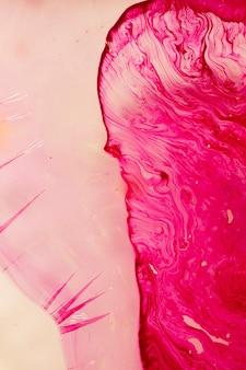 Verscheidenheid van abstracte roze vormen