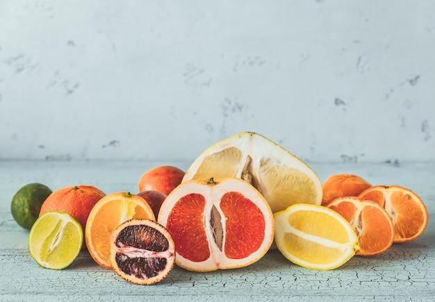 Verscheidenheid van citrusvruchten