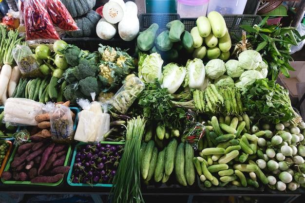 Verscheidenheid van groene groenten