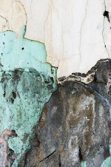 Verscheidenheid van oud gekleurd geschilderd stenenbehang