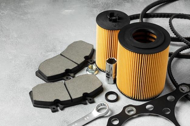 Verschillende auto-accessoires regeling: