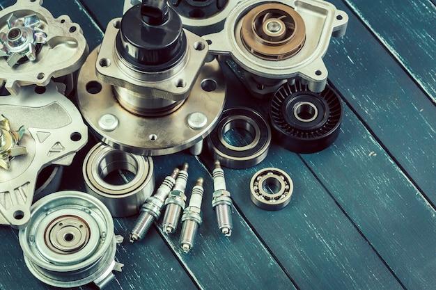 Verschillende auto-onderdelen