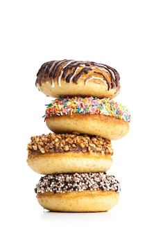 Verschillende donuts