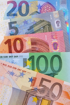 Verschillende euro-valutarekeningen