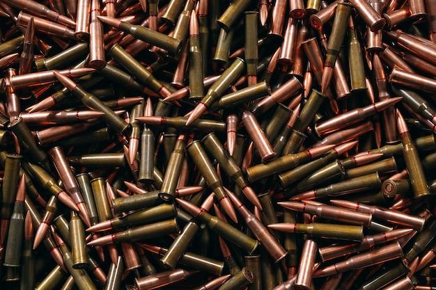 Verschillende munitie achtergrond