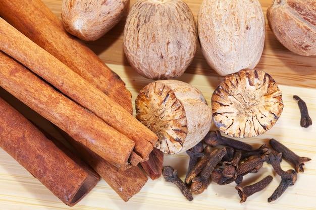 Verschillende natuurlijke kruiden