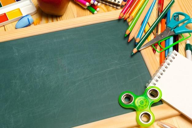 Verschillende schoolbenodigdheden