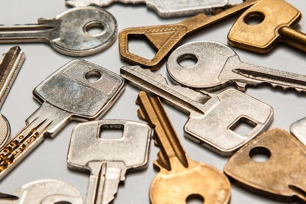 Verschillende sleutels