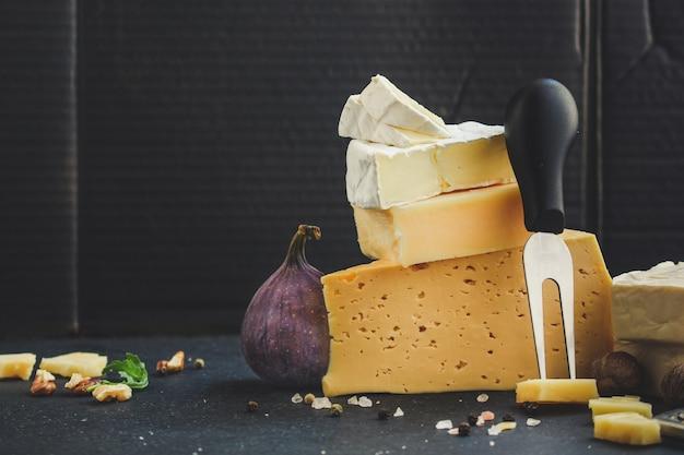 Verschillende soorten kaas