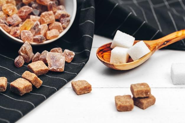 Verschillende soorten suiker
