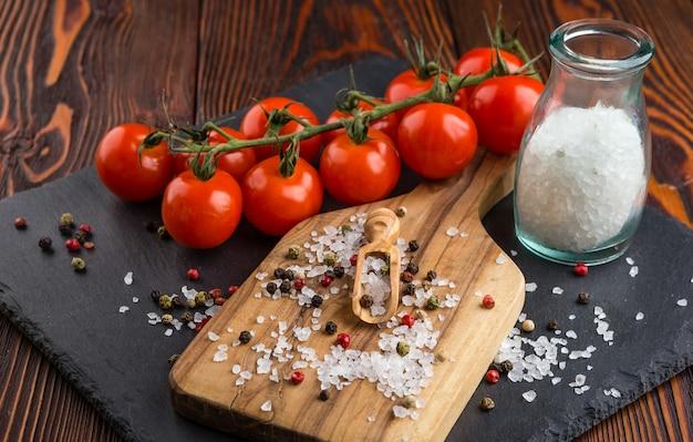 Verschillende soorten zout