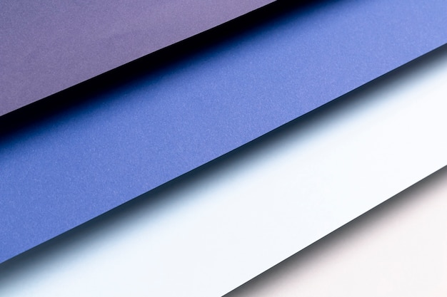 Verschillende tinten blauw patroon