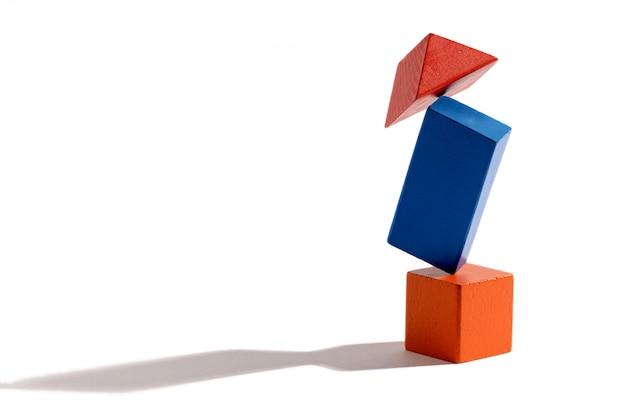 Verschillende vormen in balans brengen