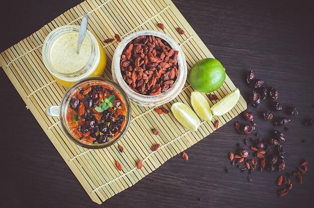 Verse antioxidant kruidenthee van goji bessen