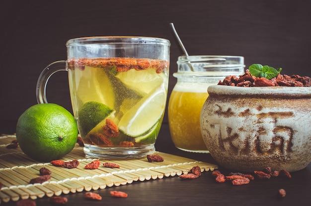 Verse antioxidant kruidenthee van gojibessen
