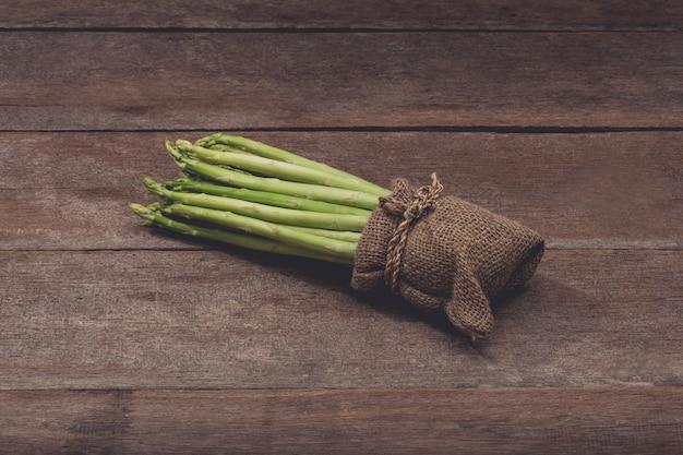 Verse asperges in zak zak