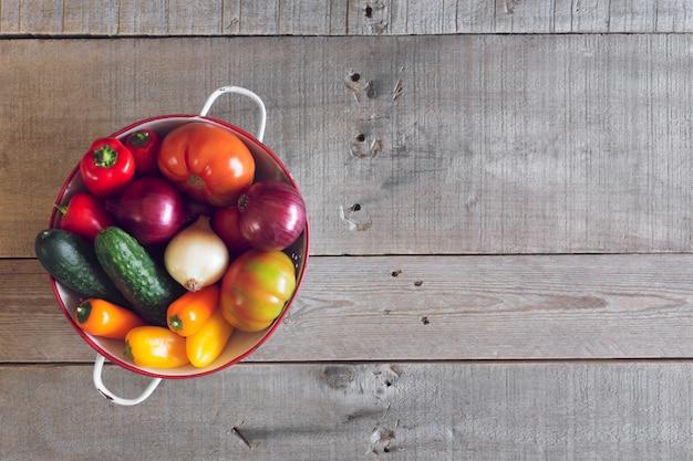 Verse biologische groenten