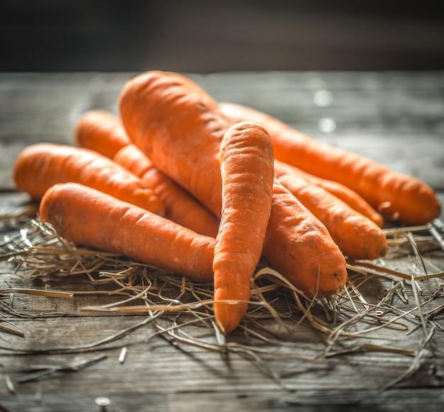 Verse biologische wortelen