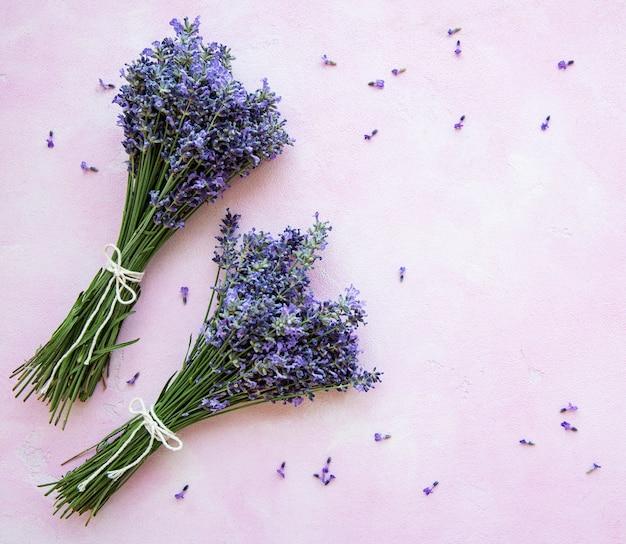 Verse bloemen van lavendel
