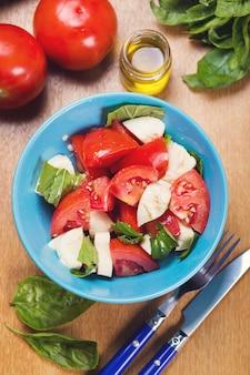 Verse caprese salade