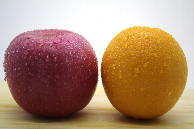 Verse citrus- en appelfoto's 3